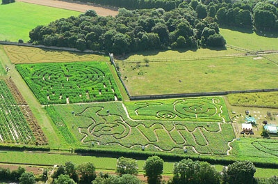 Ouverture des labyrinthes végétaux de la Ferme de Gally  http://www.pariscotejardin.fr/2012/07/ouverture-des-labyrinthes-vegetaux-de-la-ferme-de-gally/