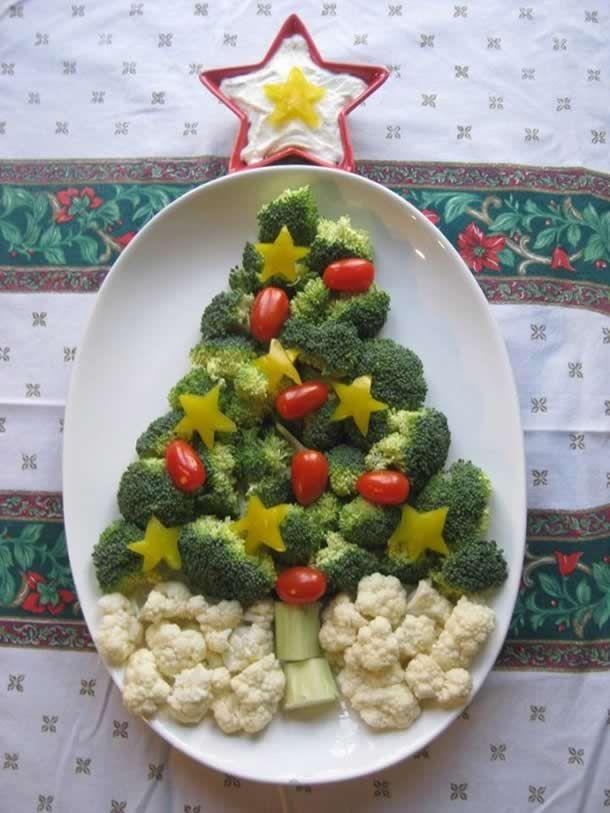 Olá, quero compartilhar com você 27 criativas decoração de Pratos, bandejas de alimentos para Natal para fazer uma decoração memorável neste final de ano.