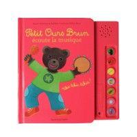 Livre Petit Ours brun écoute la musique