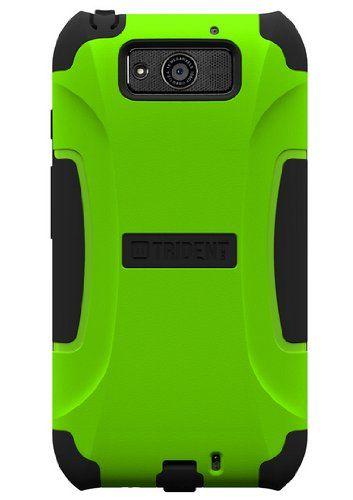 Trident Case Aegis Series for Motorola Ultra - Retail Packaging - Green