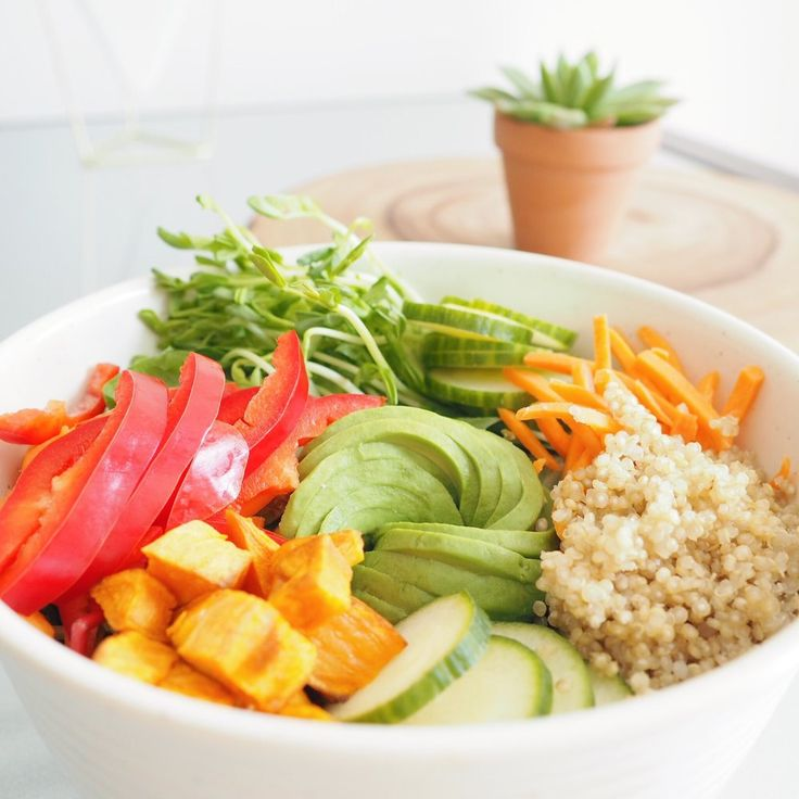 RECIPE | SWEET POTATO QUINOA BOWL (VEGETARIAN)