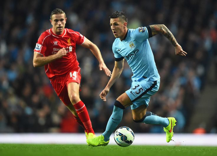 Stevan Jovetic - Manchester City v Liverpool 25th August 2014 #MCFC #LFC #EPL