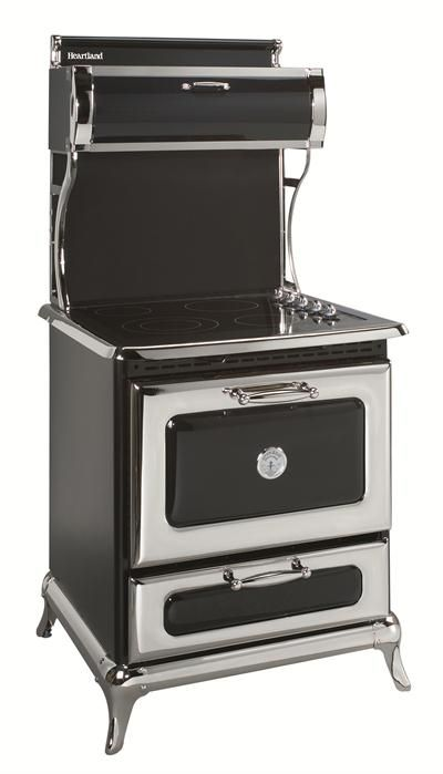 """This is the stove in our new house........but in cranberry.  30"""" Classic 4 Burner All Electric Range from Heartland Appliances"""