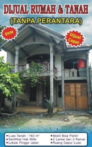 Rumah Murah Dijual Cepat Tanpa Perantara Harga Rp 185 000 000 Nego Tulungagung Outdoor Structures Outdoor Gazebo