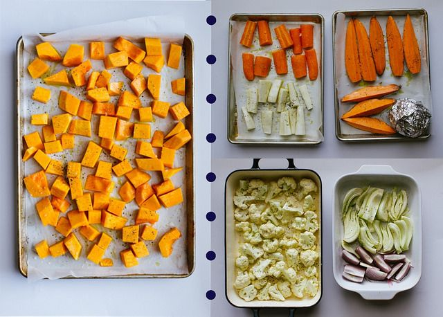 Veggie Tales: Get the story on which vegetables roast best together! This will be a lifesaver for Thanksgiving!