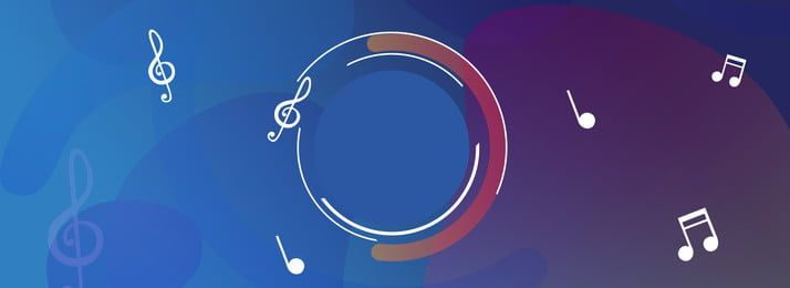 Blue Geometric Flat Music Banner Background | Banner Background Images,  Charity Poster, Geometric Graphic