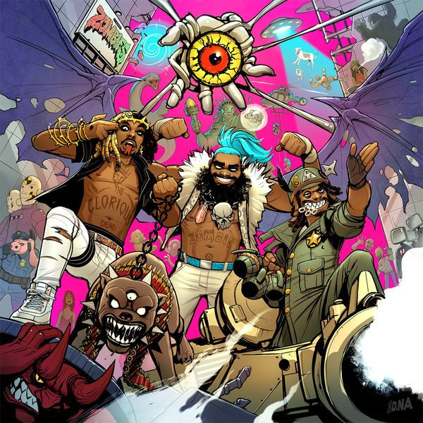 """""""Bounce"""" by Flatbush Zombies - http://letsloop.com/artist/flatbush-zombies/song/bounce #music #newmusic"""