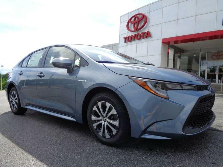 2021 Toyota Corolla New 2021 Corolla LE Hybrid Celestite