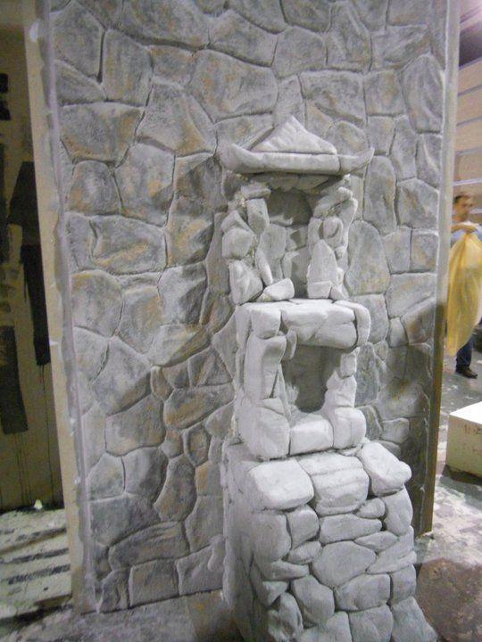 Altar en piedra Porexpan