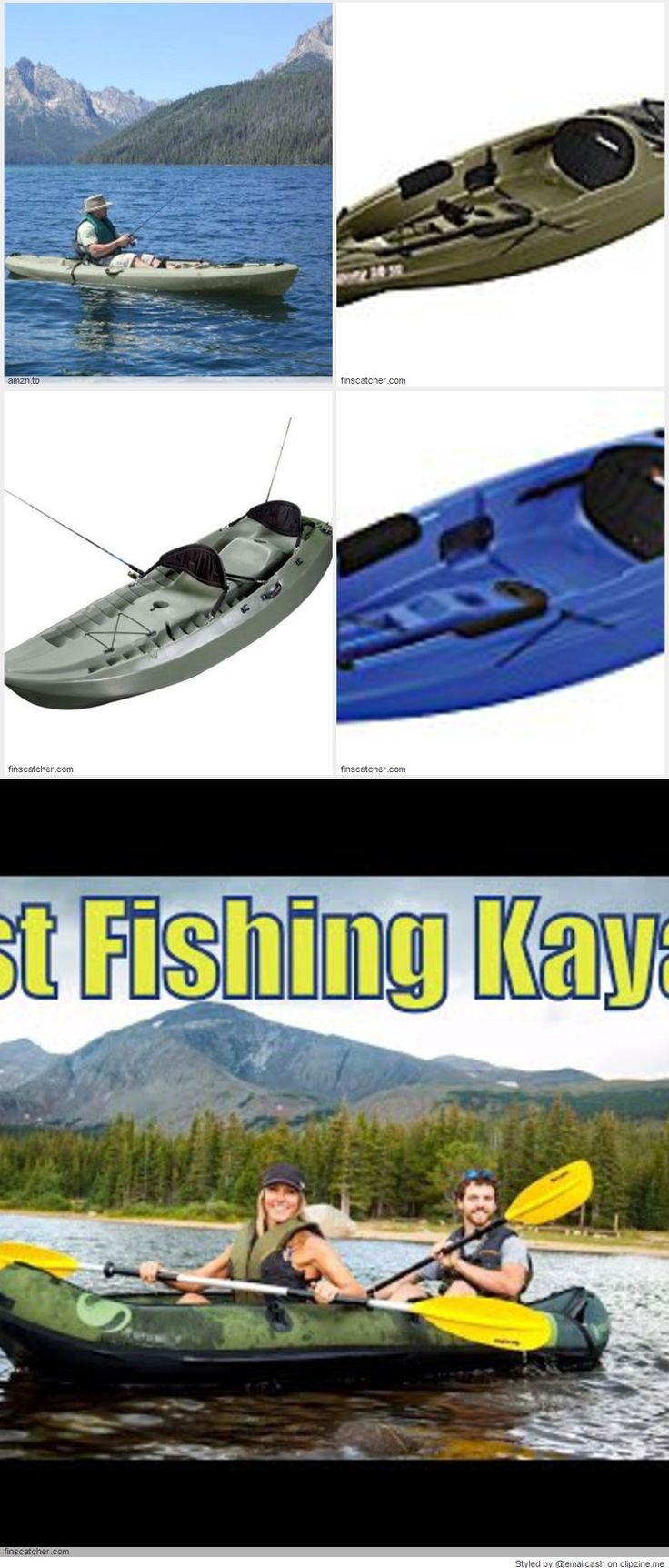 614 best summer fun images on pinterest fishing pictures for Ocean kayak fishing