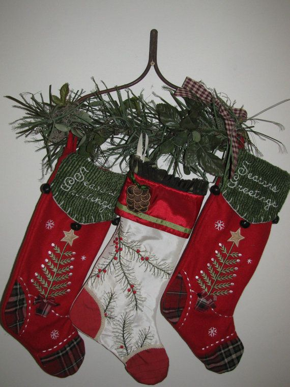 Top 25 best stocking hanger ideas on pinterest mantle for Best stocking holders