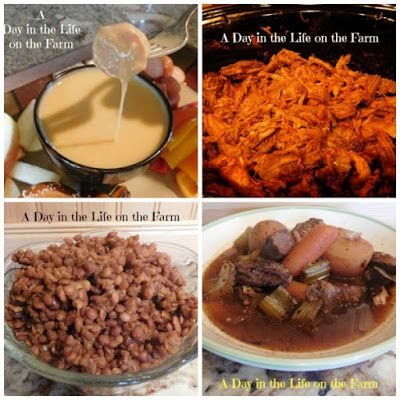 A Day in the Life on the Farm: Countdown to 2017: Best Crockpot/Slowcooker Recipes