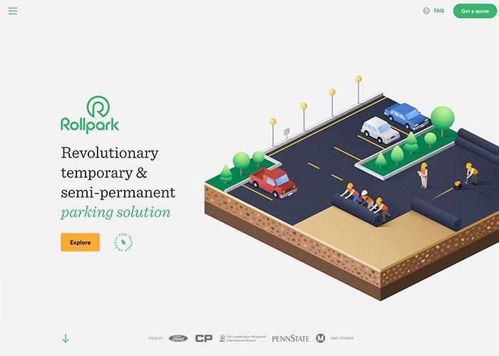 Rollpark | CSS Website