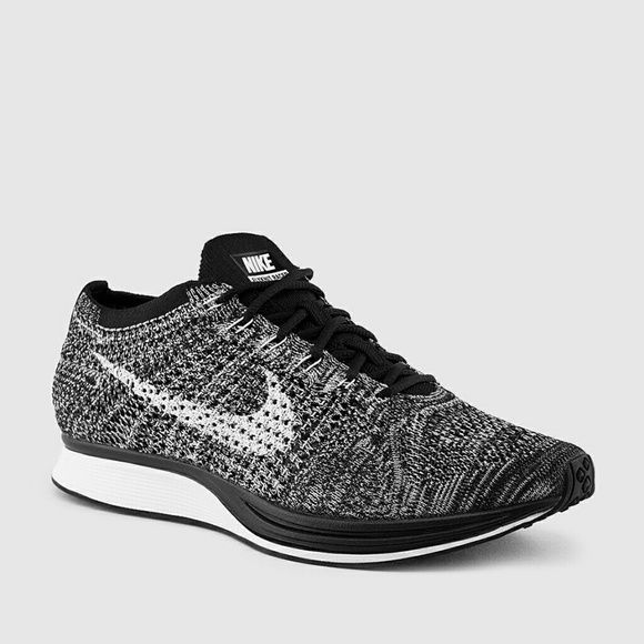 Women's Oreo Flyknit Racer Black White No Trades No Swaps Selling Only.  DESCRIPTION Black & White Women's Flyknit Racer Oreo  SIZE 9.5 Women's  PRICE The price is negotiable. Serious buyers, please submit your best offer.  * These shoes are RARE  Related: Roshe Run One Kaishi Juvenate Adidas Nike Shoes Sneakers