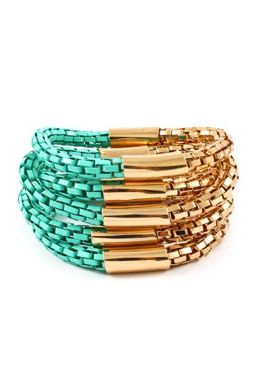 Turquoise Madden Bracelet