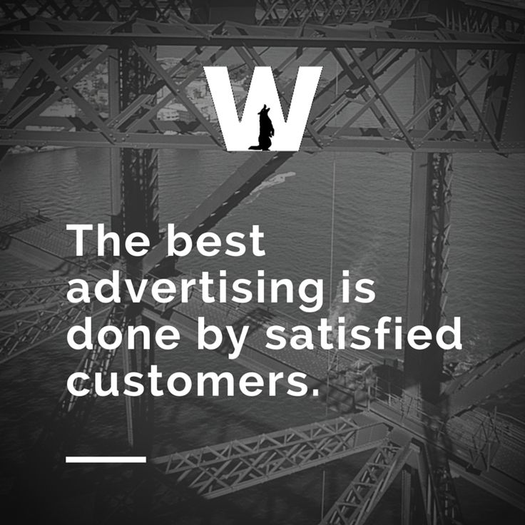 The best advertising is done by satisfied customers. #DigitalMarketing #SocialMediaMarketing