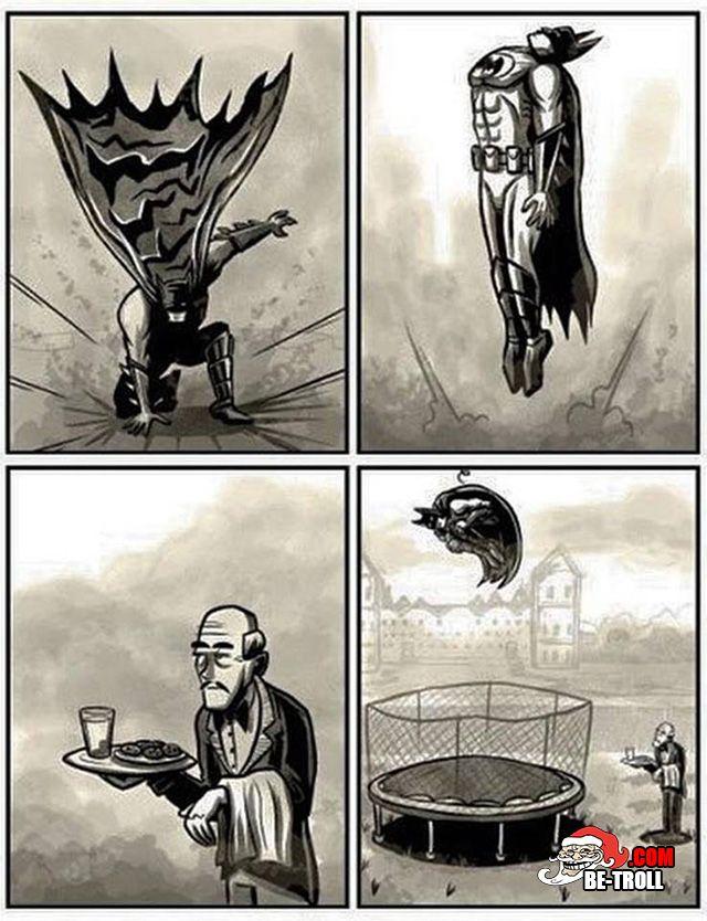 Batman, que fais-tu ? - Be-troll - vidéos humour, actualité insolite