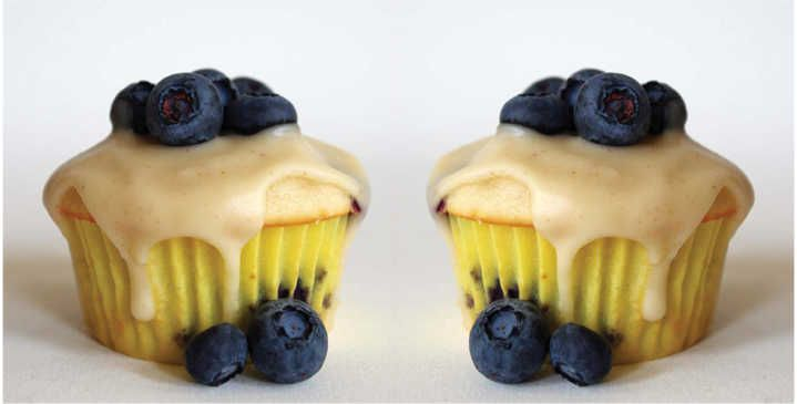 Blueberry Cupcakes with Maple Brown Butter Frosting