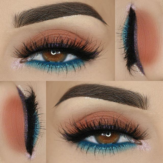 Stunning makeup artistry by @paola.11 using our Marrakesh shadows