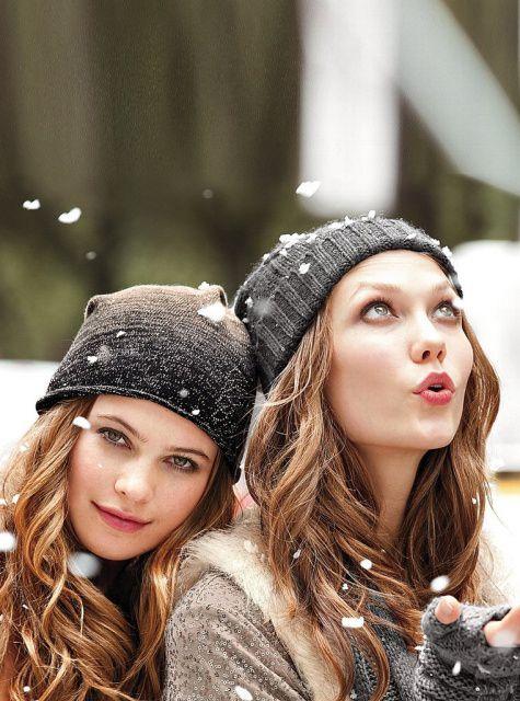 knitwear in the winter