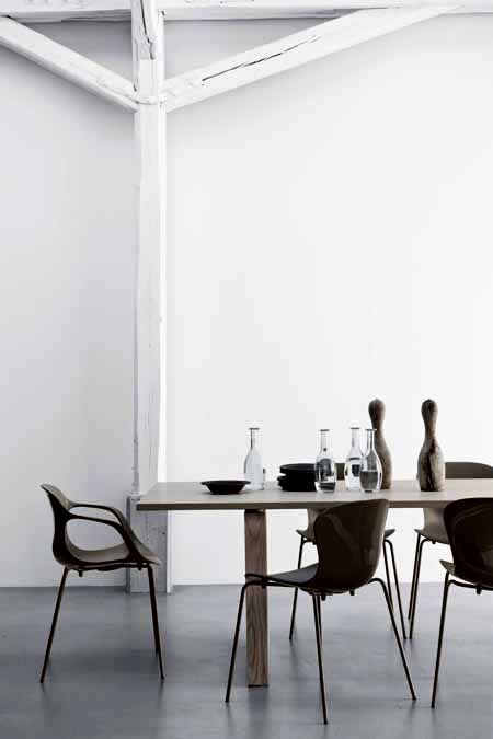 .Or maybe these chairs are the perfect match for our diningtable...