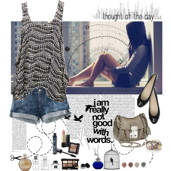 Summer it is...Fearlessgilmor, Clothing, Summer, Style Pinboard, Polyvore, Denim Shorts, I V, Style Fashion