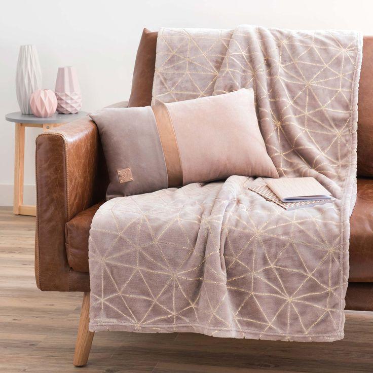 les 25 meilleures id es de la cat gorie plaid maison du monde sur pinterest lit maison du. Black Bedroom Furniture Sets. Home Design Ideas