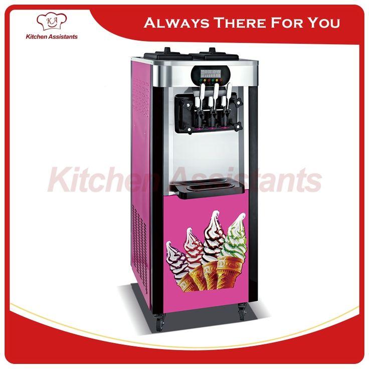 1334.00$  Buy here  - XQ20L electric vertical commerical ice cream making machine soft ice cream maker