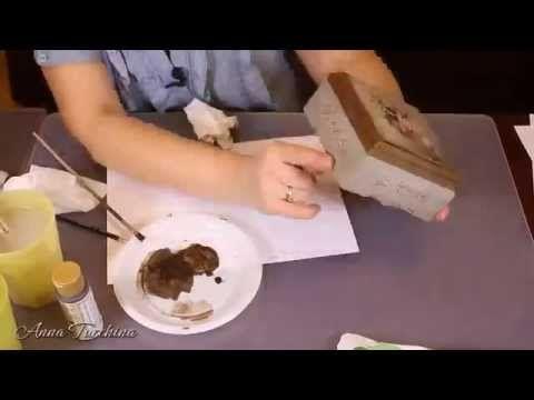 Имитация литого металла и чеканки - YouTube