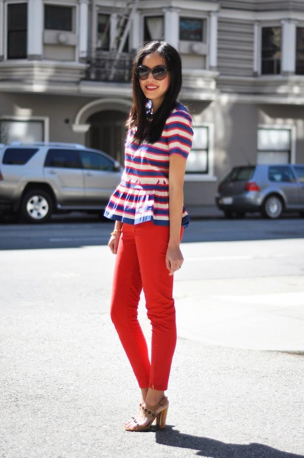 This spring, it's all about the peplum