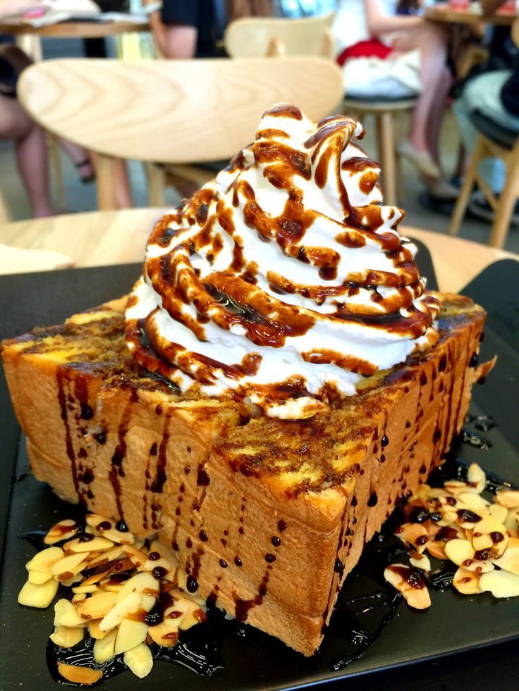 Image result for Japanese milk bread bowl ice cream