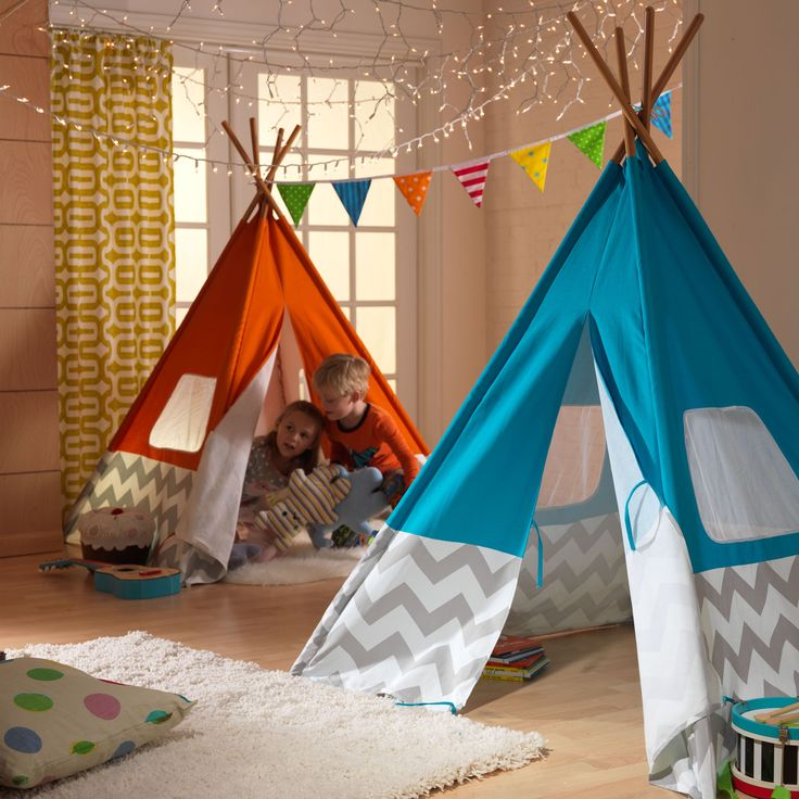 KidKraft Chevron Teepee - Teach your child to embrace the spirit of American heritage, with the KidKraft Chevron Teepee . Any day is a great day for camping out inside. This...