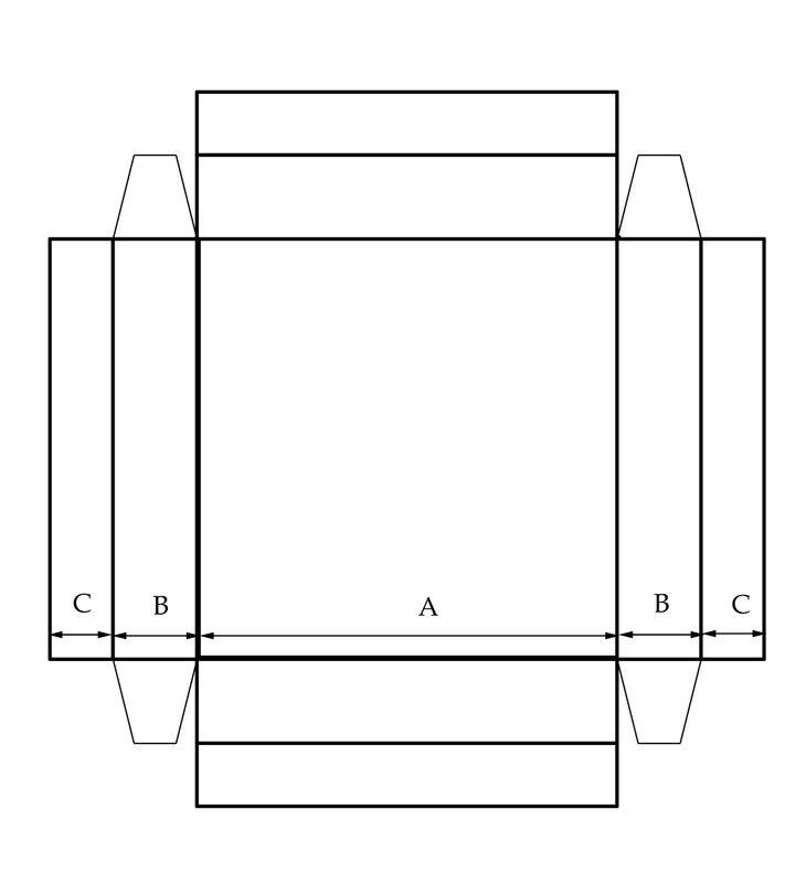 17 best images about box templates on pinterest gift. Black Bedroom Furniture Sets. Home Design Ideas