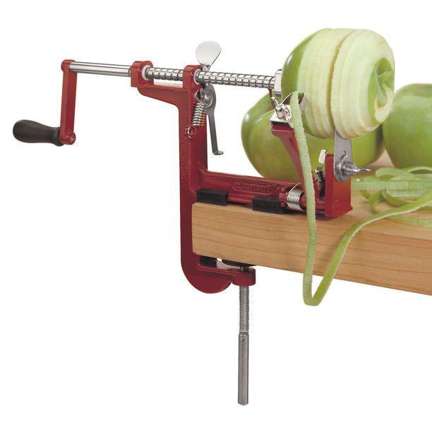 Apple Peeling Machine - lifestylerstore - http://www.lifestylerstore.com/apple-peeling-machine/