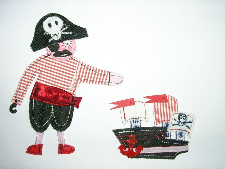Pirát  a jeho loď