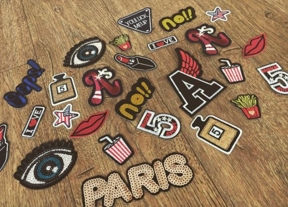 Patches trend - shop online @ www.caressaa.nl
