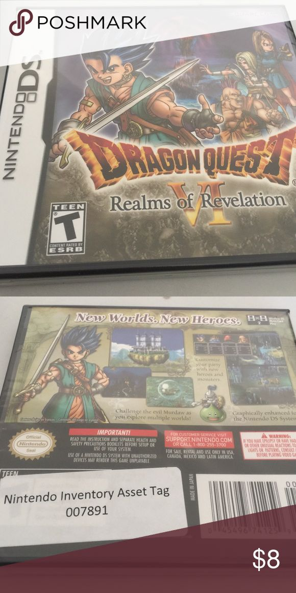 Nintendo DS Dragon Quest Game Hello, this is Nintendo DS Dragon Quest Game. New with packaging. Final Price Other
