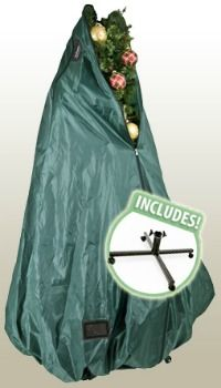 Here's a Christmas tree storage bag, from TreeKeeper, that allows you to never disassemble or undecorate your tree ever again, making set up and put away a breeze each holiday season.