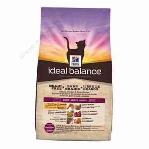 Croquettes sans céréales Hill's Ideal Balance No Grain pour chats