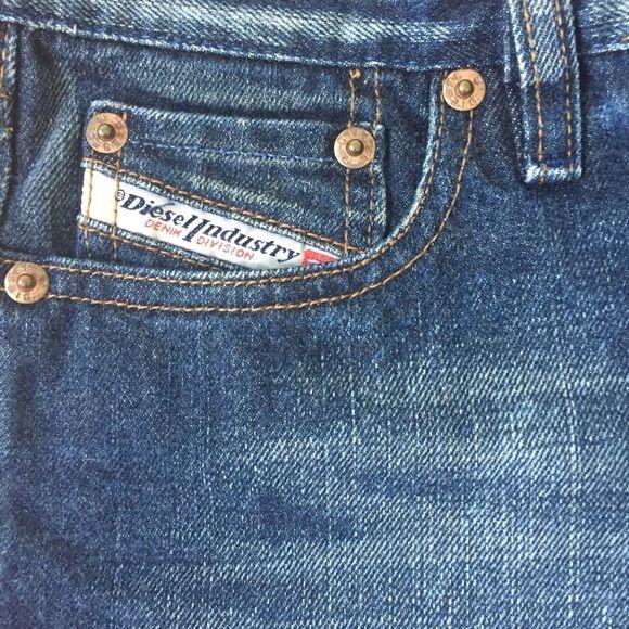 Diesel denim Washed denim bootleg jeans by Diesel Diesel Jeans Boot Cut