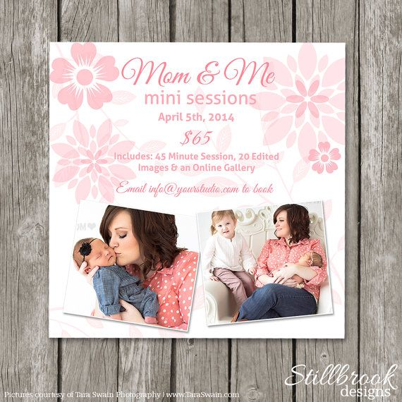 Best Mini Session Templates  Stillbrook Designs Images On