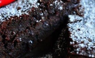 Choc-chilli brownies