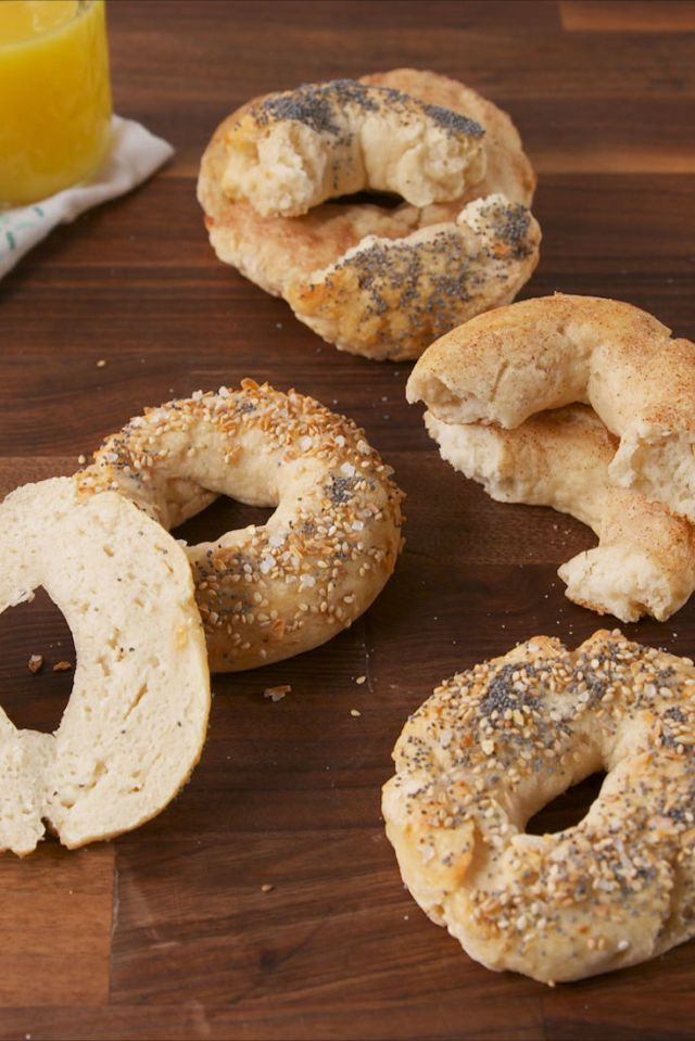 Best Two-Ingredient Bagels Recipe - How to Make Two-Ingredient Bagels