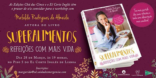 Sinfonia dos Livros: Saída de Emergência | Convite | WorkShop Mafalda R...