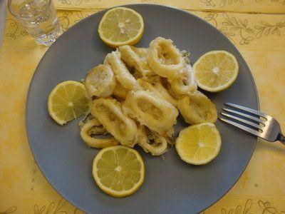 Calamari crocanti la cuptor - Bucataria cu noroc