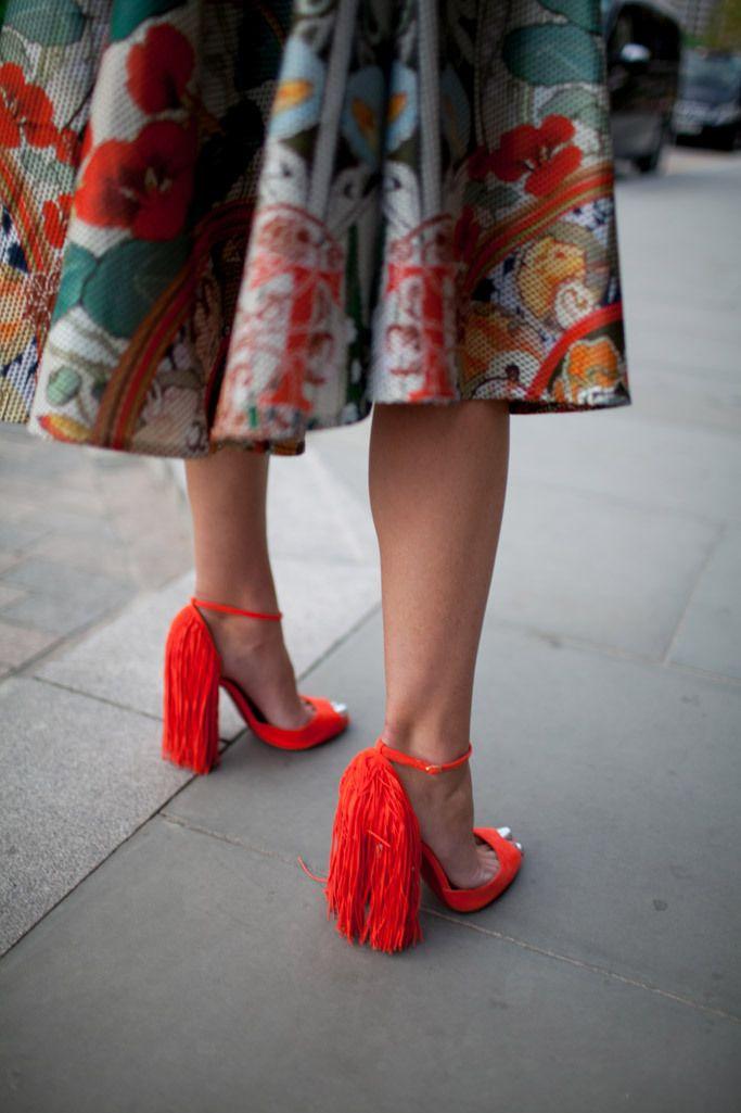 London Fashion Week Street Style Shoes