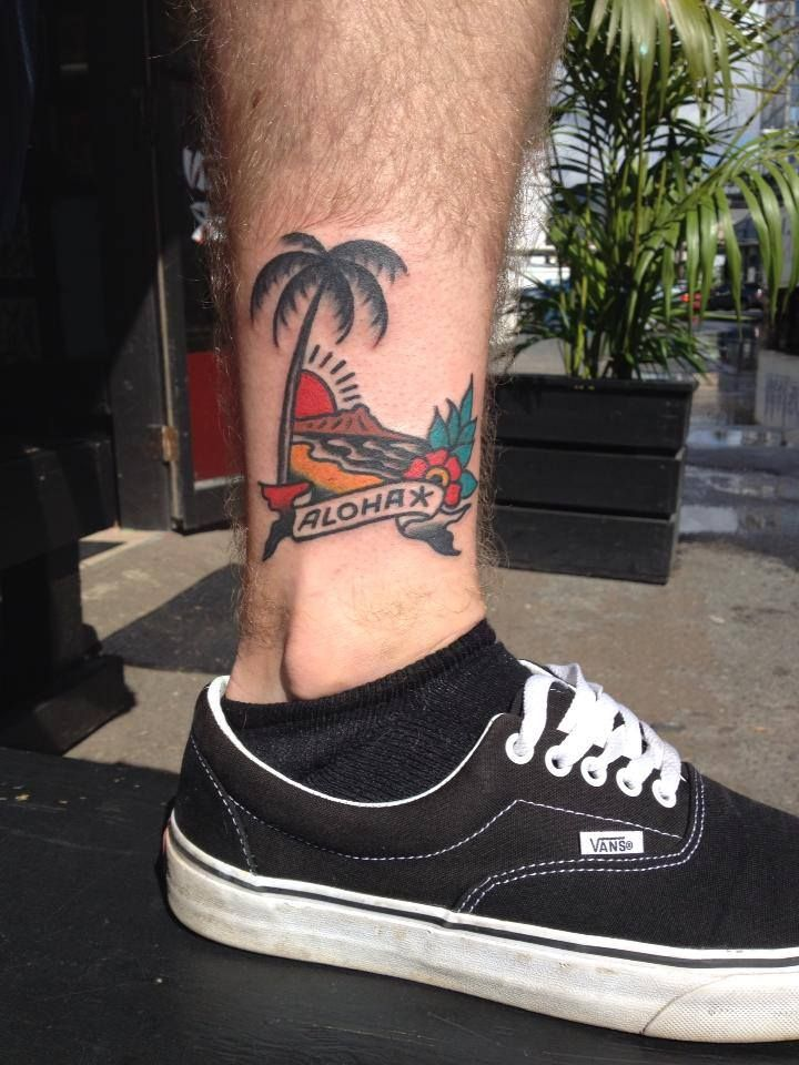 Old School Tattoo/ Sailor Jerry - Hawaii