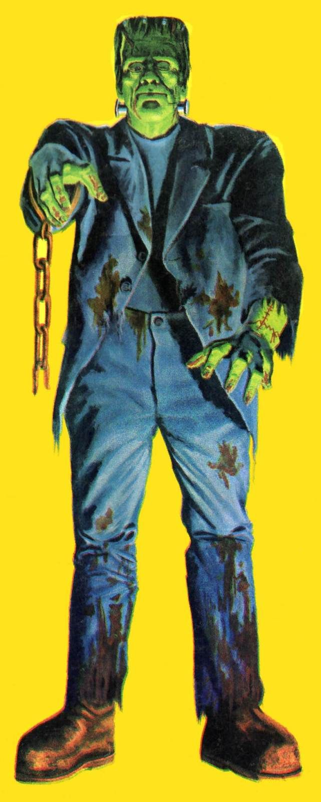 Frankie from the classic Monster-Sized Monsters comic book ad...