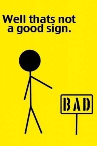 Hahahahha: Signs Lol, Εїз, Funny Pictures, So True, Med School, Bumper Stickers, Sign Language, Bad Signs, So Funny