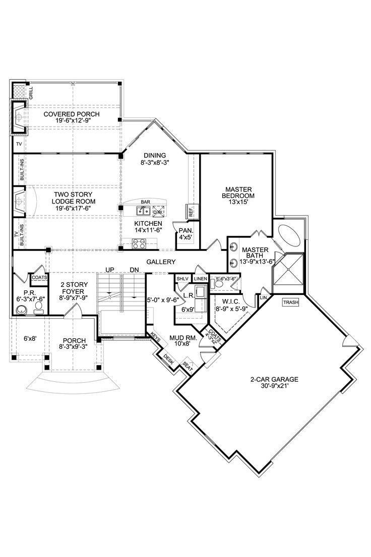Cherry Hill Builders First Floor Plans Architectural Drawings Blueprints